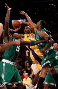 Kobe, Kevin, Paul and Ray