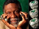 Bill Russell Has 11 Rings with the Boston Celtics