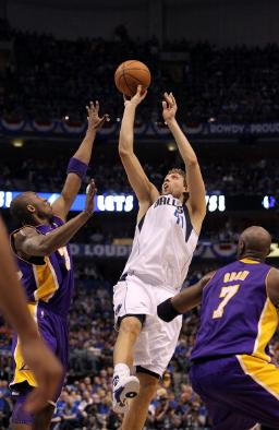 Dirk Nowitzki and Dallas Mavericks Sweep Kobe Bryant and the LA Lakers