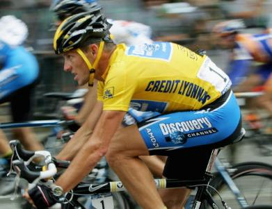 Lance Armstrong Wins Tour de France in 2005