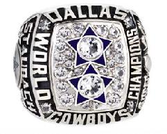 Dallas Cowboys Super Bowl XII Ring