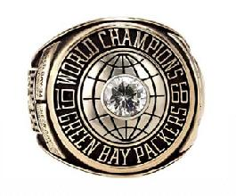 Green Bay Packers Super Bowl I Ring