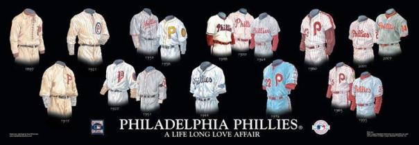Philadelphia Phillies Uniform History