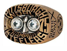 Pittsburgh Steelers Super Bowl X Ring