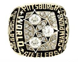 Pittsburgh Steelers Super Bowl XIII Ring