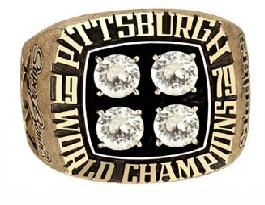 Pittsburgh Steelers Super Bowl XIV Ring