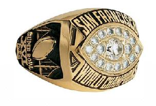 San Francisco 49ers 1981 Super Bowl Ring