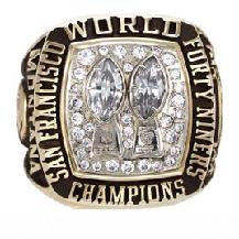 San Francisco 49ers Super Bowl XIX Ring
