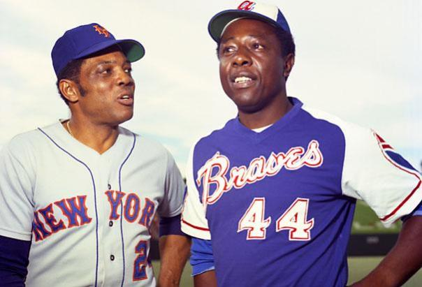 Willie Mays and Hank Aaron All-Star Game