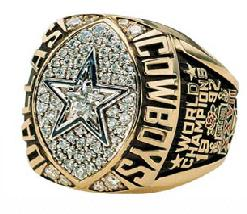 Dallas Cowboys Super Bowl XXVII Ring