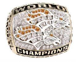 Denver Broncos Super Bowl XXXIII Ring
