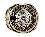Green Bay Packers 1966 Super Bowl Ring