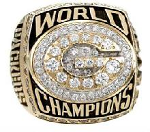 Green Bay Packers Super Bowl XXXI Ring