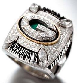 Green Bay Packers Super Bowl XLV Ring