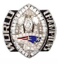 New England Patriots Super Bowl XXXIX Ring