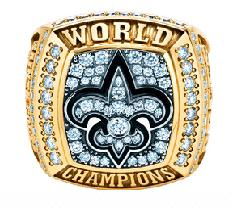 New Orleans Saints Super Bowl XLIV Ring