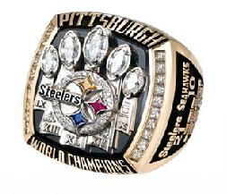 Pittsburgh Steelers Super Bowl XL Ring