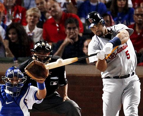 Albert Pujols, Third Player to Hit 3 Home Runs in One World Series Game