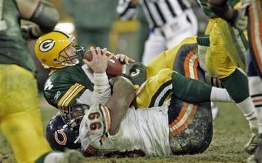 Brett Favre Has Also Been Sacked the Most
