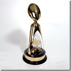 NFL MVP Trophy