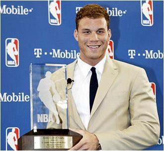 Blake Griffin is the 2010-11 NBA Rookie of the Year