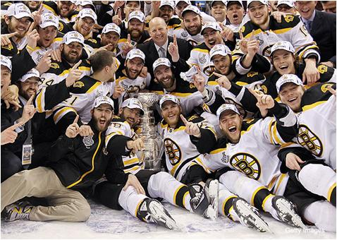 Boston Bruins - 2011 Stanley Cup Champions