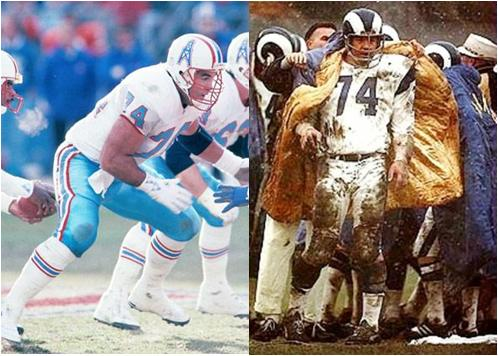 Bruce Matthews and Merlin Olsen Have the Most Pro Bowl Selections