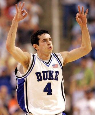 J.J. Redick of Duke Has the Most Three-Pointers in NCAA History