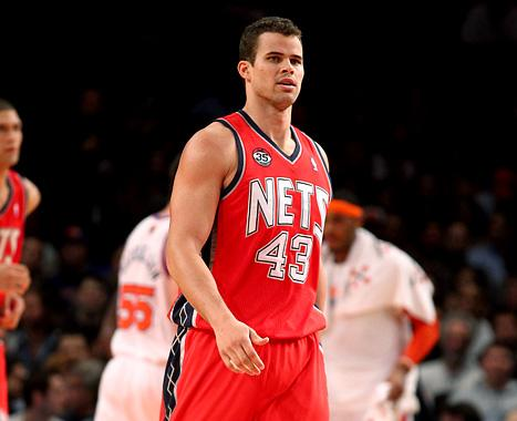 Kris Humphries in the NBA's Most Disliked Player 2011-12