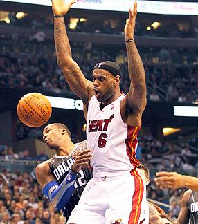 LeBron James Scored 51 Against Dwight Howard and the Orlando Magic