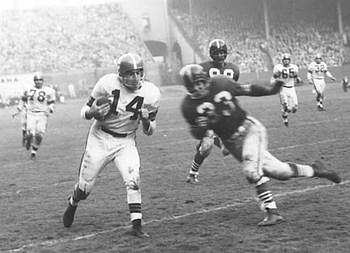 Otto Graham - Most Rushing Touchdowns for a Quarterback