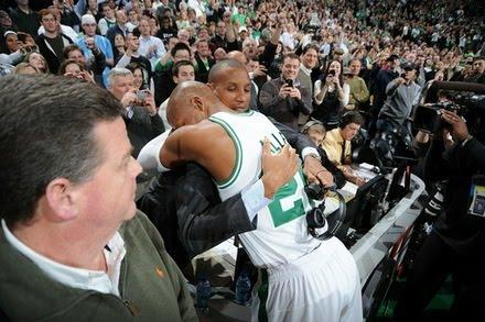 Ray Allen and Reggie Miller, Top Two From Three-Point Land