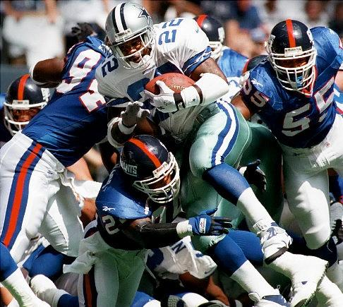 Emmitt Smith Is the NFL's All-Time Postseason Rushing TD Leader