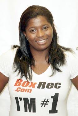 Ijeoma Egbunine of Nigeria is the No. 1 Women's Heavyweight in the World