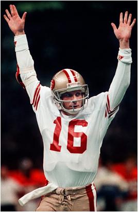 Joe Montana Has the Most Passing Touchdowns in Playoff History - 45
