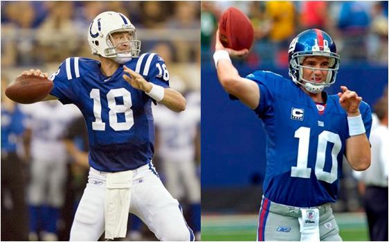Peyton and Eli Manning