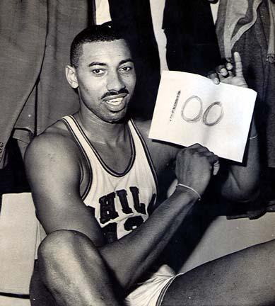Wilt Chamberlain After His 100-Point Game