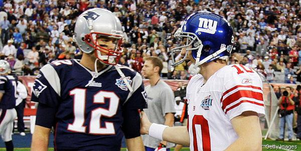 Eli Manning Has Two Super Bowl Wins, Both Over 3-2 Tom Brady