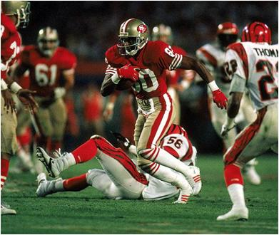 Jerry Rice Holds a Bunch of Super Bowl Records