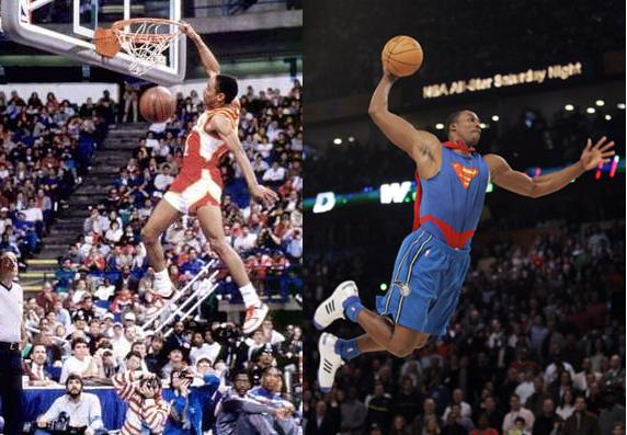 NBA All-Star Weekend: All the Slam Dunk Contest Winners – In Order and By Height   SPORTS LIST ...