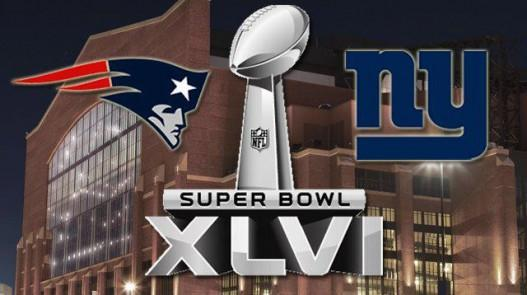 Super Bowl XLVI: New England Patriots vs. New York Giants