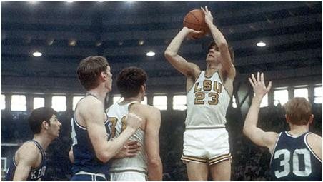 Pete Maravich Scored the Most Points in College Basketball History