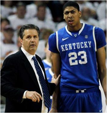 The John Calipari Coached Kentucky Wildcats Are the Favorites To Win the 2012 NCAA Tournament