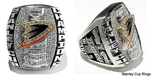 Anaheim Ducks 2007 Stanley Cup Ring