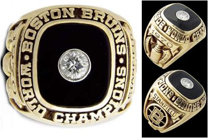 Boston Bruins 1970 Stanley Cup Ring