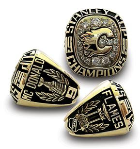 Calgary Flames 1989 Stanley Cup Ring