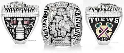 Chicago Blackhawks 2010 Stanley Cup Ring