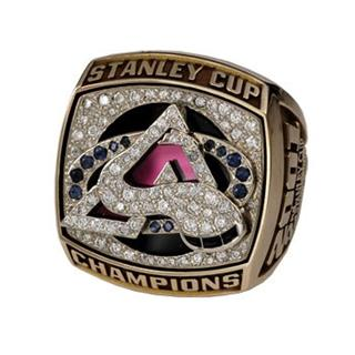 Colorado Avalanche 2001 Stanley Cup Ring