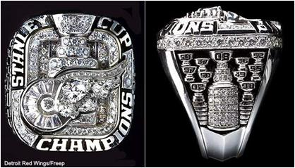 Detroit Red Wings 2008 Stanley Cup Ring