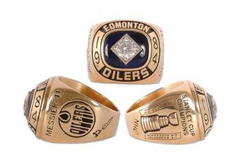 Edmonton Oilers 1984 Stanley Cup Ring